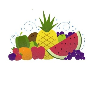 Фрукты, ягоды, овощи, орехи и крупы на английском