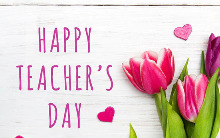 HAPPY TEACHER'S DAY 2019!