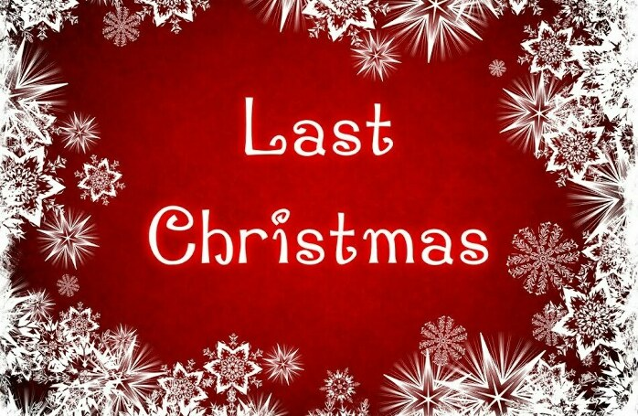 last christmas текст