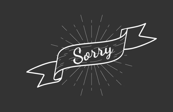 Вибачення англійською: sorry, pardon, excuse me та інші, изображение 1