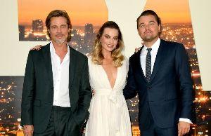 Леонардо, Брэд и Марго о «Однажды ... в Голливуде»