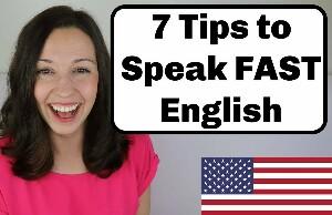 Как говорить быстро на английском