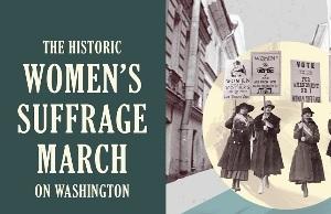 Марш суфражисток в Вашингтоне
