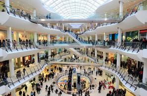 Учим английский в торговом центре